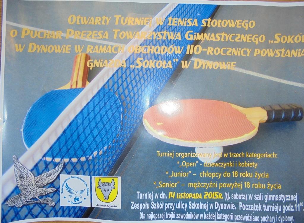 turniej tenisa