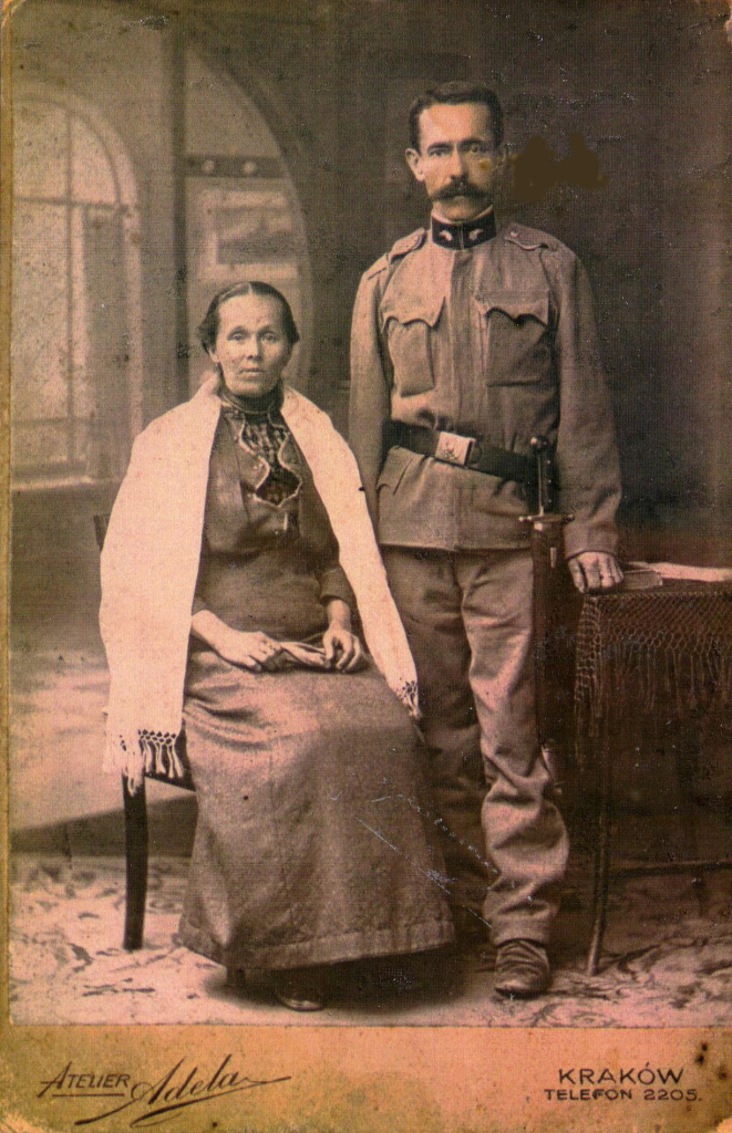 Jozef Zawila and Ludwika sept.1901